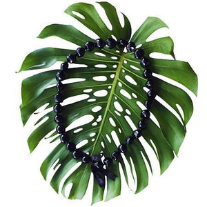 Kukui Nut Lei Black (10 Pack)