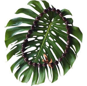 Kukui Nut Lei Brown (10 Pack)