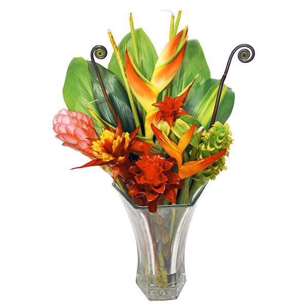 hawaiian tropical flower bouquet