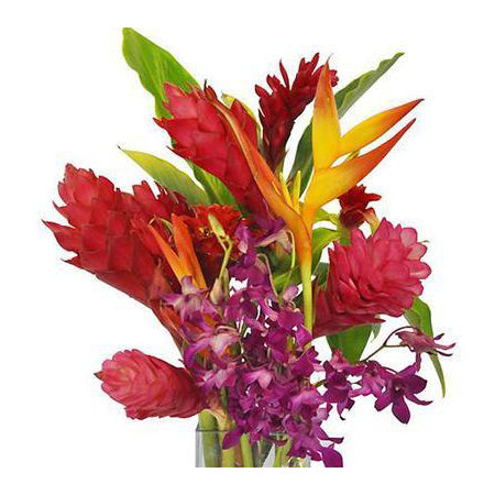tropical flower bouquet