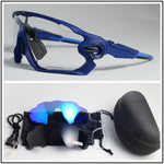 Photochromic cycling glasses day and night sports outdoor 3len running/riding/goggles