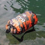 Outdoor Bag Camouflage Portable Rafting Diving - Sanlsky