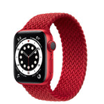 Braided Silicone Solo Loop Straps for Apple Watch