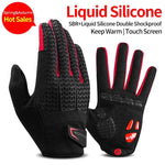GEL Liquid Silicone Palm Cushion Cycling Glove - Sanlsky