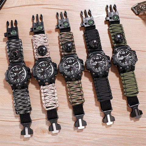 Outdoor Adventure Watch Nylon Upgrade Strap - Sanlsky