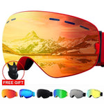 2020 UV400 Protection  Anti-fog Ski Goggles with Ski Mask - Sanlsky
