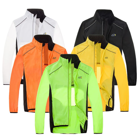 MTB Bicycle Rain Jackets Sports Raincoat