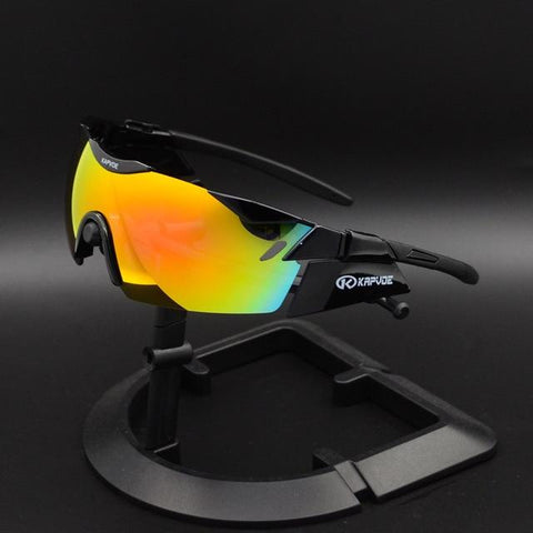 TR90 Full Mirror Cycling Sunglasses - Sanlsky