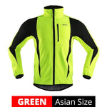 Winter Warm-Up Thermal Fleece Cycling Jacket - Sanlsky