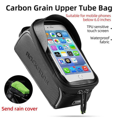 Top Front Tube Frame Bicycle Bag Waterproof - Sanlsky