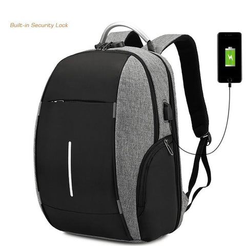 2020 New Combination Lock Anti Theft backpacks - Sanlsky