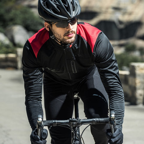 Men's warm breathable and comfortable autumn and winter cycling jacket  KC6104