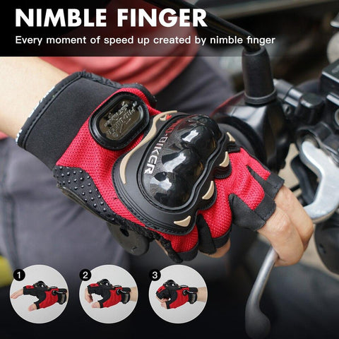 Half Finger Riding Cycling Fingerless Glove - Sanlsky