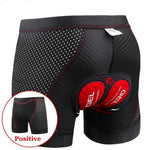 2020 Pro 5D Gel Pad Shockproof Cycling Underpants - Sanlsky