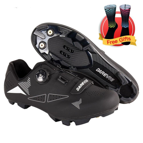 Race MTB Self-Locking Cycling Shoes SPD  Men Women - Sanlsky