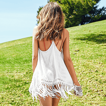 RACERBACK BEACH COVER UP - You Got Swank Boutique