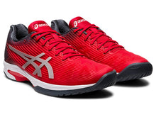 Load image into Gallery viewer, Asics Solution Speed FF Shoes - Classic Red/Pure Silver