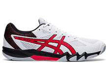Load image into Gallery viewer, Asics Gel-Blade 7 Shoes - White/Red