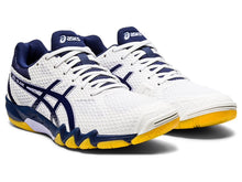 Load image into Gallery viewer, Asics Gel-Blade 7 Women Shoes - White/Peacoat