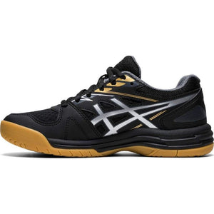Asics Upcourt 4 GS Shoes - Black/Pure Silver
