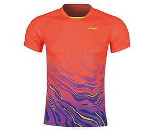 Li-Ning Men's T-Shirt, Flashing Orange