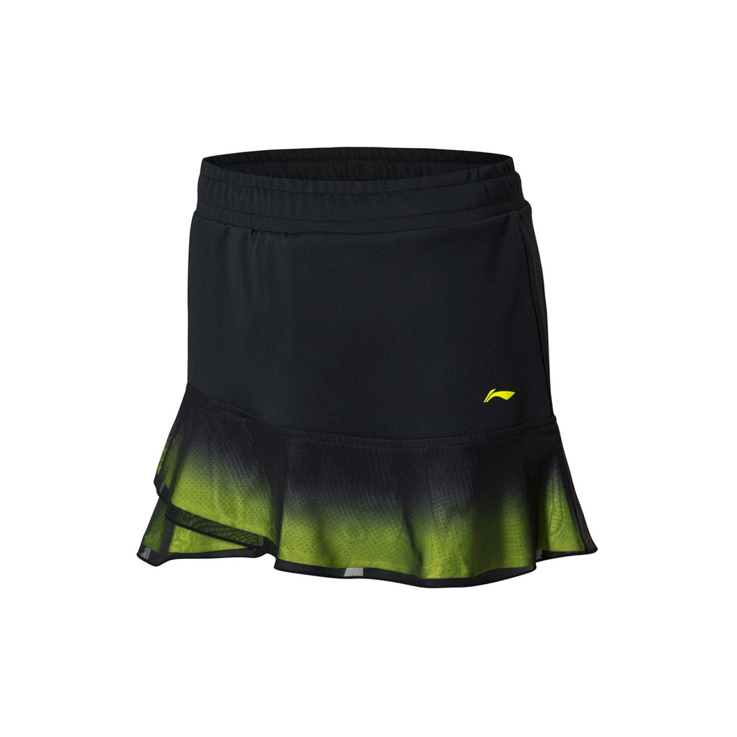 Li-Ning Women`s Skirt-shorts, Standard Black