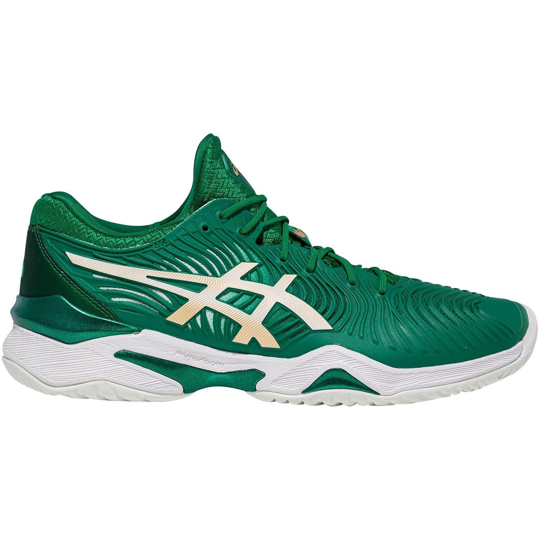Asics Court FF Novak Shoes - Kale/White