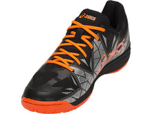 Load image into Gallery viewer, Asics Gel-Fastball 3 Shoes - Black/Shocking Orange