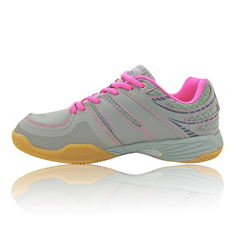 Teuton BooStability 1017 Women Shoes - Grey/Pink