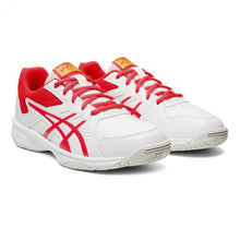 Load image into Gallery viewer, Asics Court Slide GS Shoes - White/Laser Pink