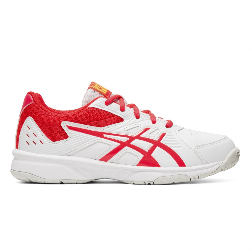 Asics Court Slide GS Shoes - White/Laser Pink