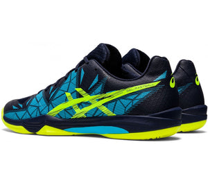 Asics Gel-Fastball 3 Shoes - Black/Blue