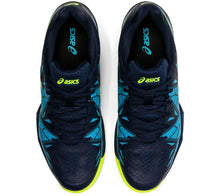 Load image into Gallery viewer, Asics Gel-Fastball 3 Shoes - Black/Blue