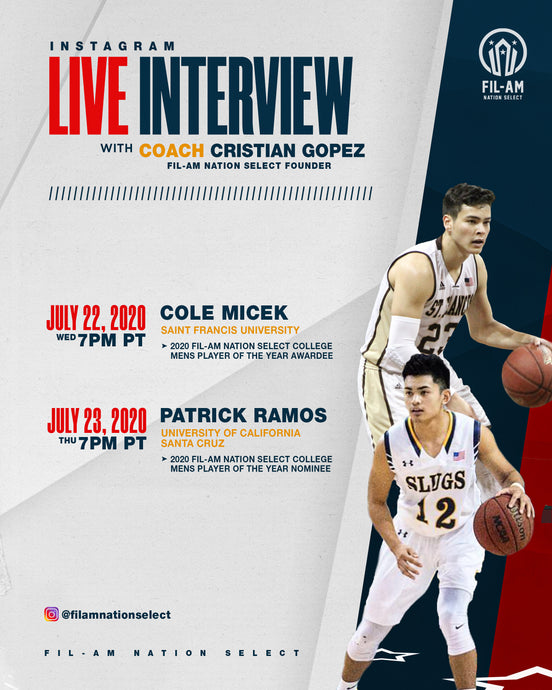 Live interview with Cole Micek and Patrick Ramos