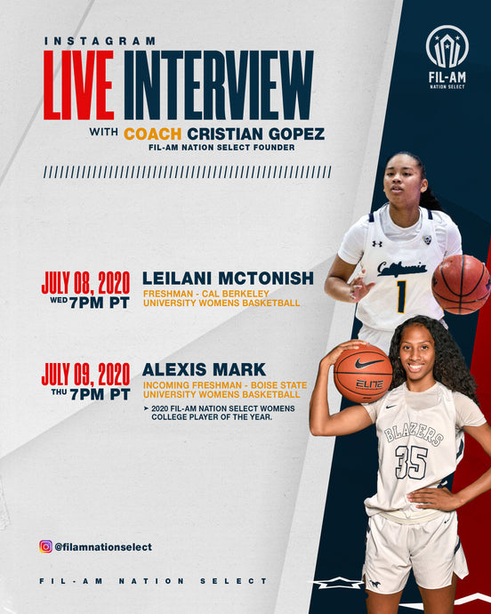 Live interview with Leilani McTonish and Alexis Mark