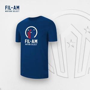 Fil-Am Nation Select Logo T-Shirt
