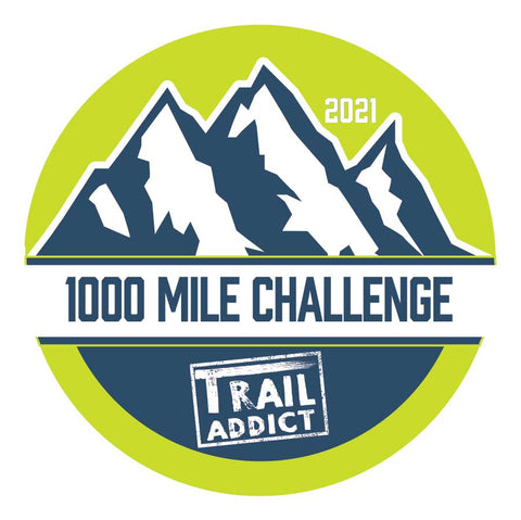 1000 Mile Hiking Challenge 2021