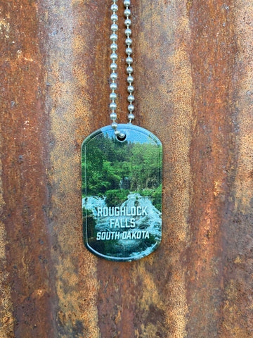 Roughlock Falls Dog Tag