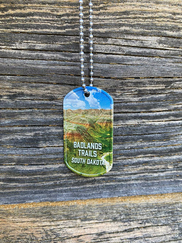 badlands dog tag