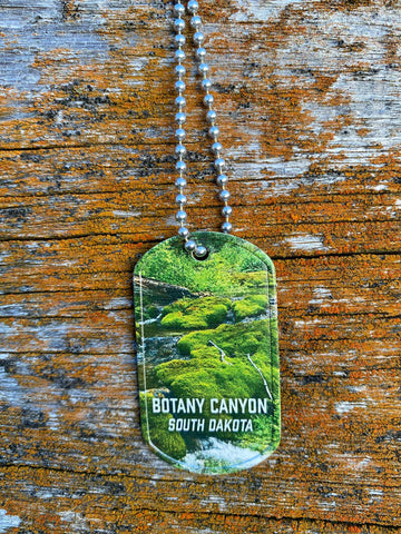 Botany Canyon Dog Tag