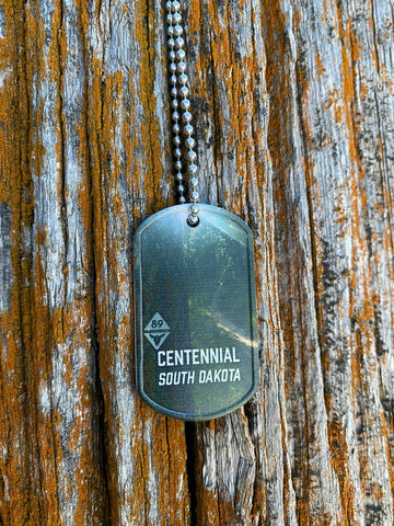 Centennial Trail Dog Tag