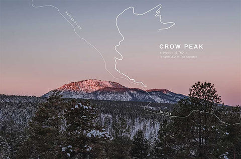 Trail Artwork - Crow Peak