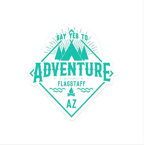 Adventure sticker Flagstaff arizona