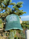 Black Hills Trail Addict Distressed Trucker Hat Green