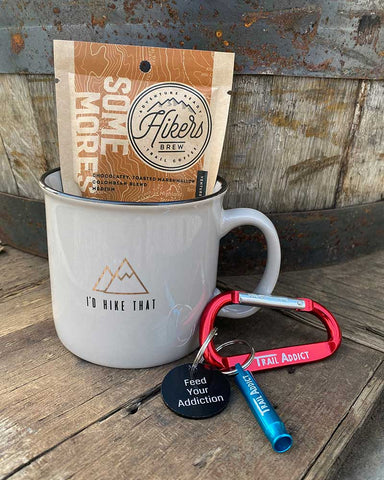 hiking gift set coffee mug