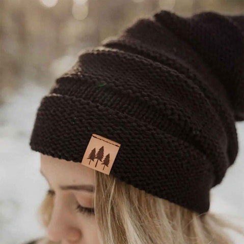 Beanie - Three Tree Black