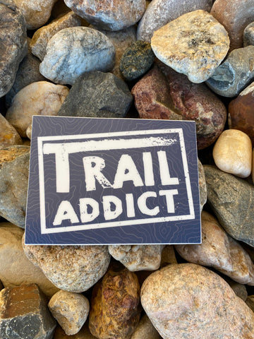 Blue Trail Addict Sticker