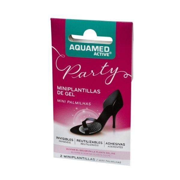 Aquamed Active Party Mini Palmilhas Gel - 2 unidades