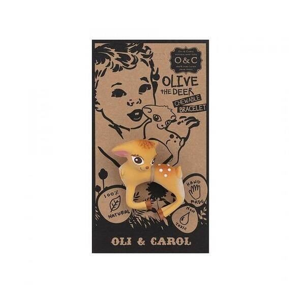 Oil & Carol Pulseira Olive The Deer - 1 unidade