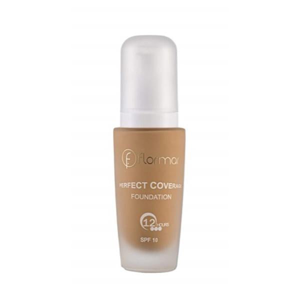 Flormar Perfect Coverage Foundation (108 Honey) - 30ml